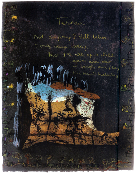 """32x26""""  mixed media on paper, 1978"""