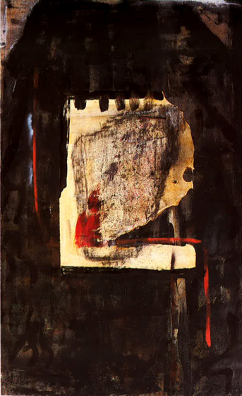 """67.5x42"""" acrylic on canvas, 1979-81"""