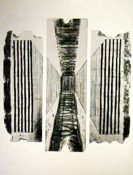 """62.5x92.5"""" Ink on paper, 1979-81"""